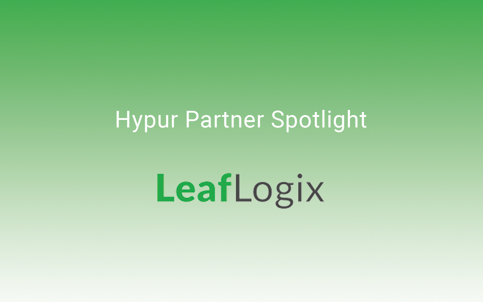 How Hypur Integrates with Leaf Logix